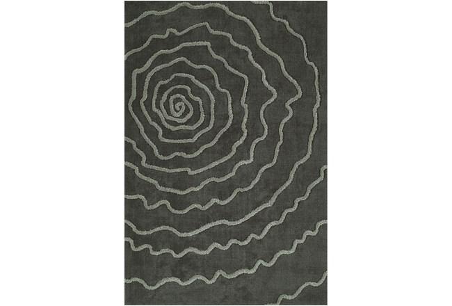 108X156 Rug-Modern Bloom Grey - 360