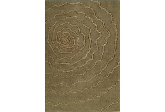 96X120 Rug-Modern Bloom Sand - 360