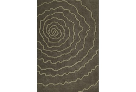 96X120 Rug-Modern Bloom Taupe