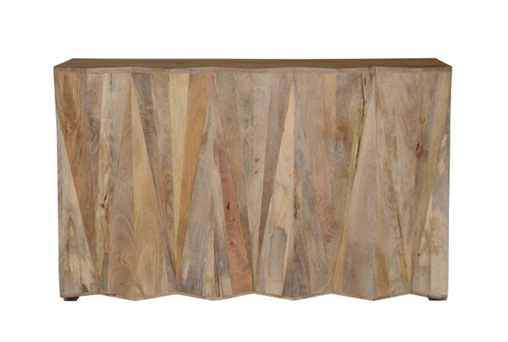 Geometric Bar Cabinet