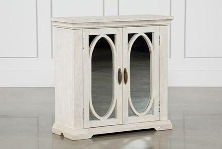 Mango Wood 2-Door Cabinet