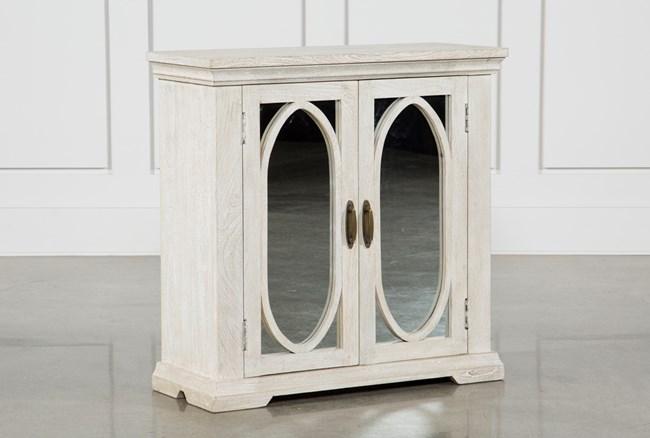 Mango Wood 2-Door Cabinet - 360