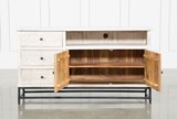 Antique White Sideboard - Left