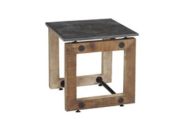 Natural Pine End Table