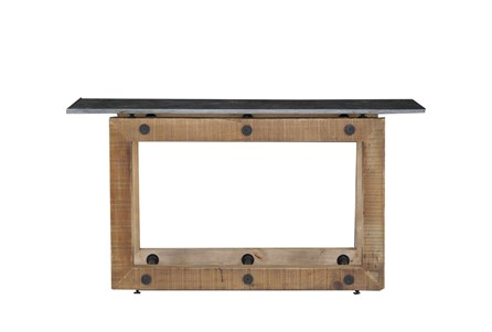 Natural Pine Console Table