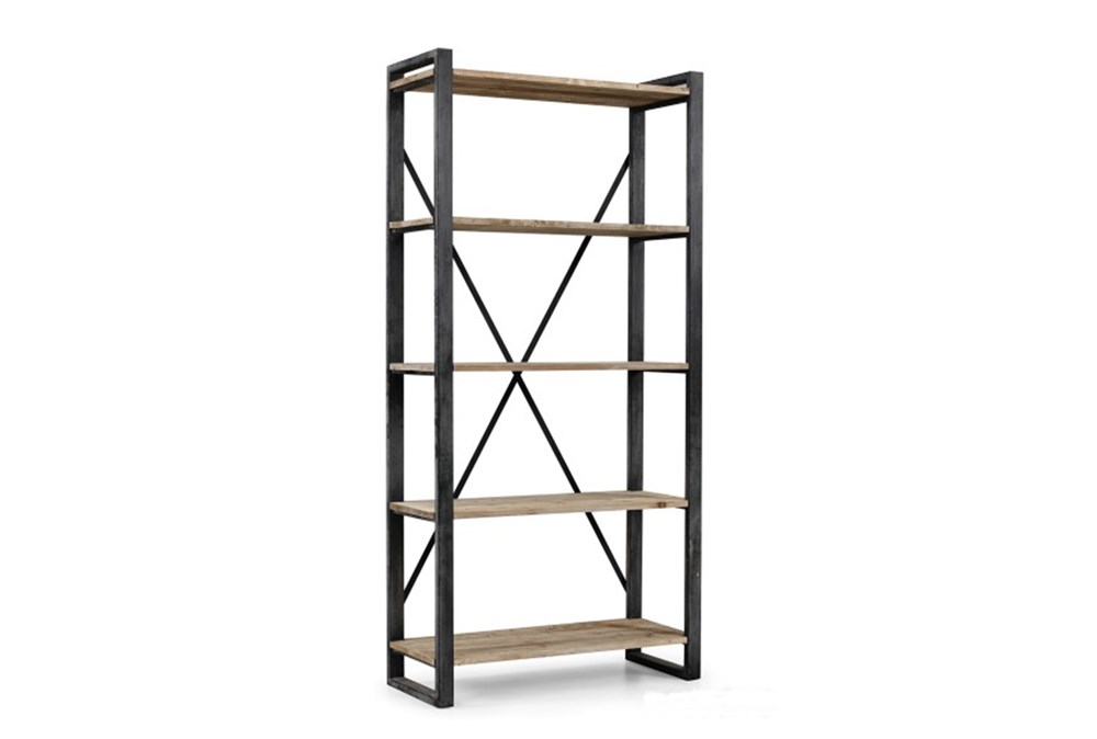 "Natural 91 In Tall Medium 91"" Bookcase"