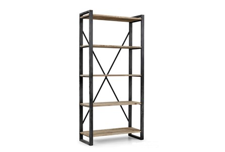 Natural 91 In Tall Medium Bookcase