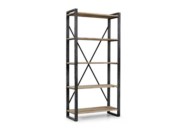 "Natural 91 In Tall Medium 91"" Bookcase - 360"
