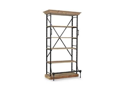 Black Medium Bookcase