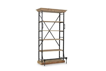 Black Medium Bookcase - Main