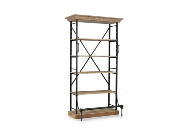 Black Medium Bookcase - 360