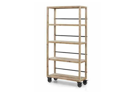 Natural Medium Bookcase