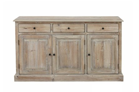 Natural 3-Drawer/3-Door Cabinet - Main