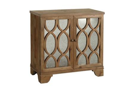Natural 2-Door 33 Inch Cabinet