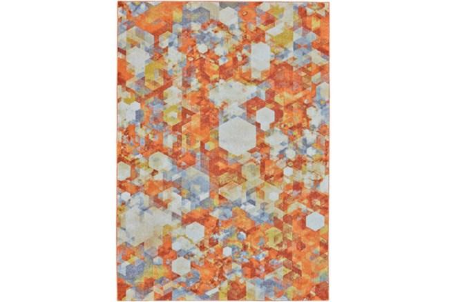 60X96 Rug-Pixel Orange/Multi - 360