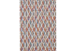 8'x11' Rug-Diamond Pixel Shower Orange/Multi