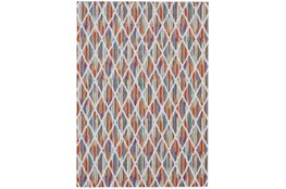120X158 Rug-Diamond Pixel Shower Orange/Multi
