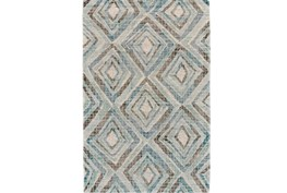 24X36 Rug-Talum Diamonds Blue