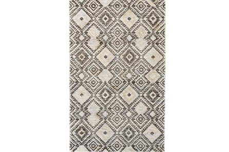 114X162 Rug-Native Diamond Grey