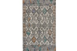 24X36 Rug-Native Orange/Teal