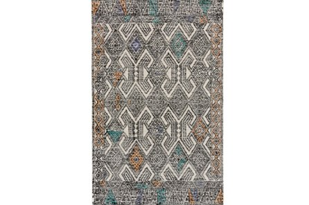 24X36 Rug-Native Orange/Teal - Main