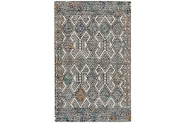2'x3' Rug-Native Orange/Teal