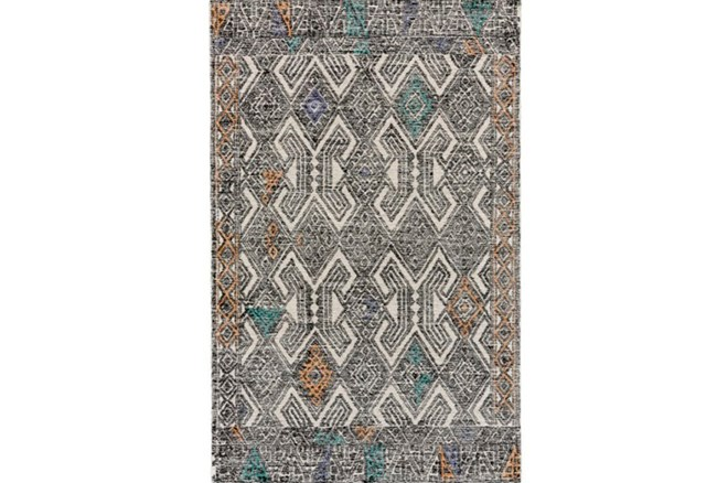 96X132 Rug-Native Orange/Teal - 360