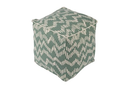 Pouf-Somerset Green - Main