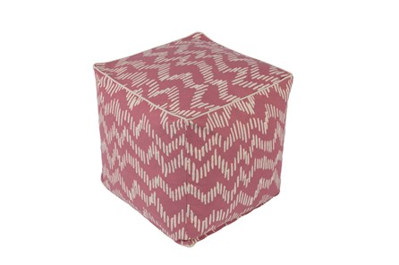 Pouf-Somerset Pink - Main