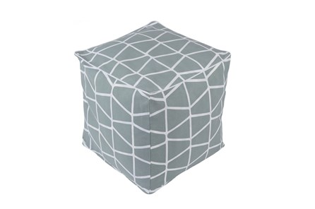 Pouf-Somerset Grey - Main