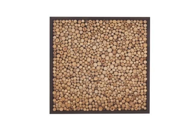 Teak Wood Wall Panel - 360