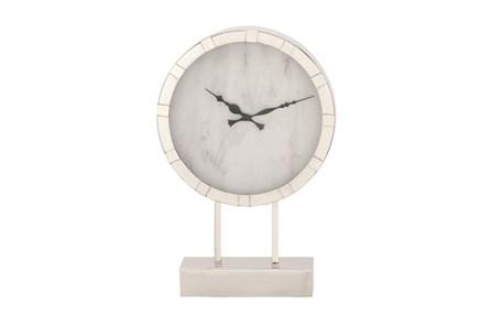 Steel Table Clock Tall - Main