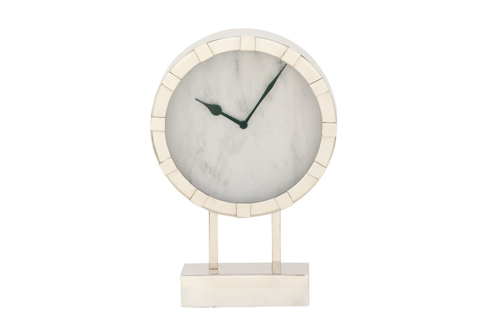 Steel Table Clock Short