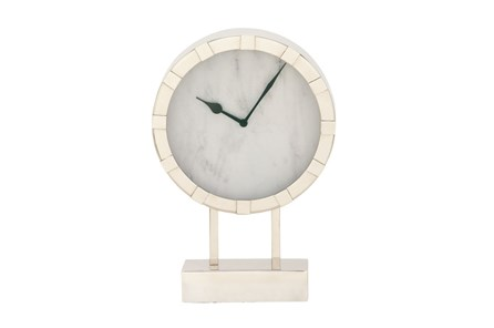 Steel Table Clock Short