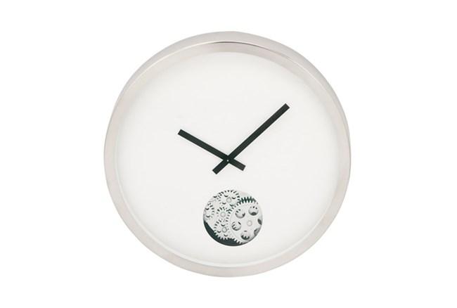 Steel Small Gear Wall Clock - 360
