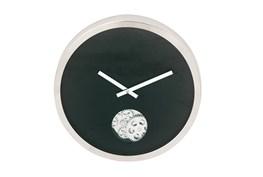Steel Black Small Gear Wall Clock