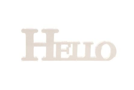 Acrylic Hello