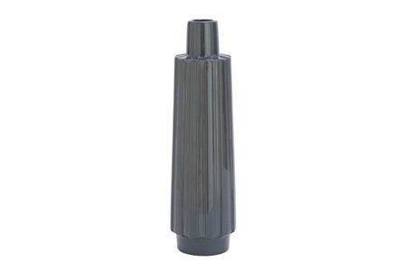 Ceramic Grey Vase Tall