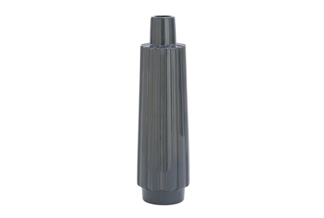 Ceramic Grey Vase Tall - 360