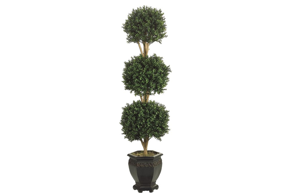 Garden-Tri Ball Boxwood Topiary