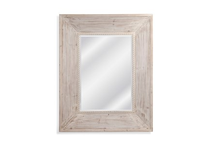 Mirror-Weathered White Coastal 40X50