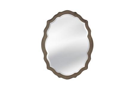 Mirror-Distressed Grey Regal 36X48