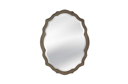 Mirror-Distressed Grey Regal 36X48 - Main