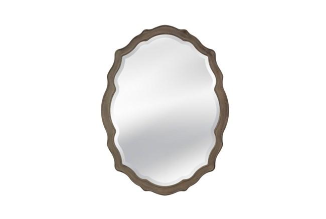 Mirror-Distressed Grey Regal 36X48 - 360