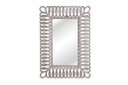 Mirror-Silver Loops 38X48 - Main