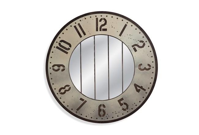 decorative mirror wall clock instructions