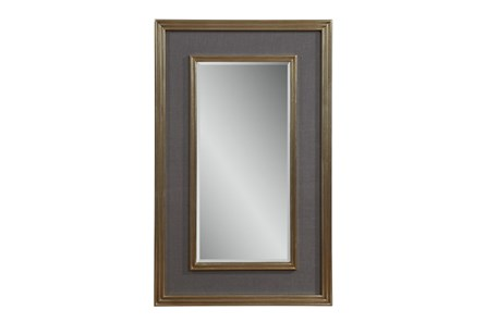 Mirror-Grey Linen And Gold 30X48 - Main