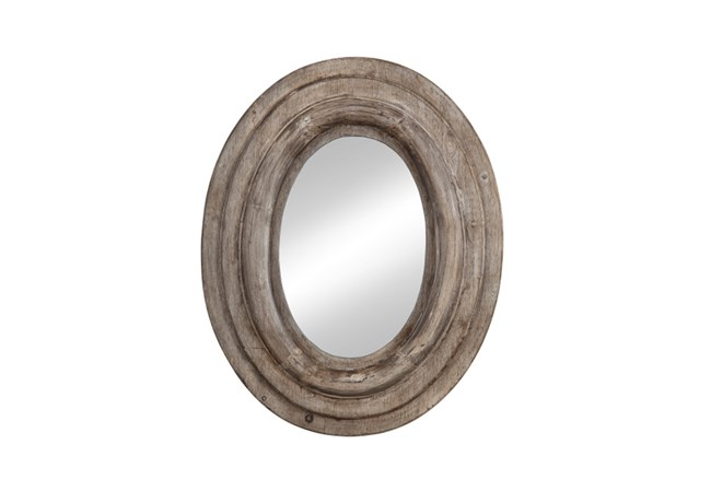 Mirror-Wood Oval Layers 32X39 - 360