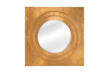 Mirror-Bright Gold Leaf Square 42X42 - Main