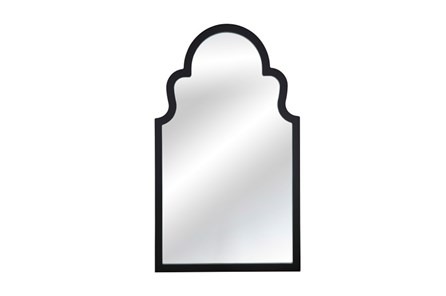 Mirror-Black Lacquer Arch 24X40 - Main